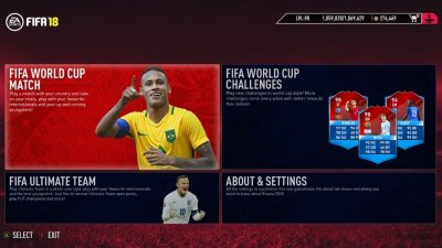 FIFA 18 World Cup 2018