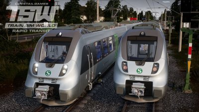 Train Sim World Rapid Transit